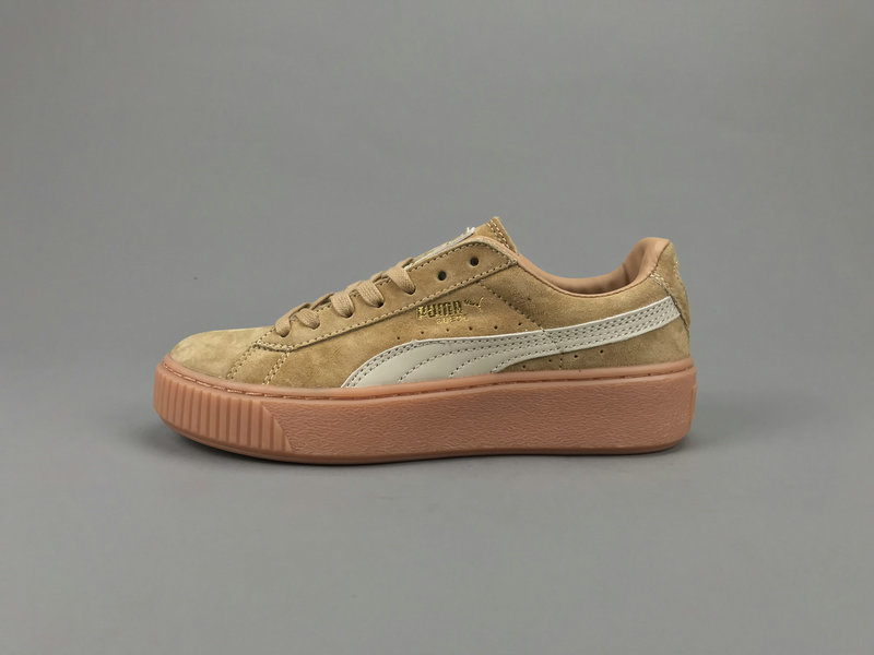 Free shipping 2018 new Puma Rihanna series other series of classic haint badminton shoes