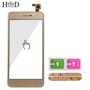 Image 4 - Toque De Vidro Do Telefone móvel Para BQ BQ 5057 5 Greve 2 BQ 5057 Digitador de Vidro Do Painel Frontal Da Tela de Toque Do Sensor ferramentas Adesivo