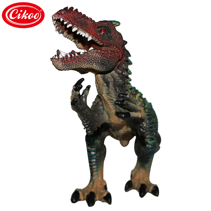 New Green Jurassic Toys Dinosaur World Park Big Model Figure Dinosaur Toy Collection Set Action Figure One Piece Resin Kids Gift купить
