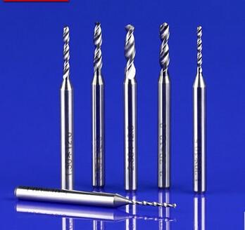 NEW 10PCS PCB Drill Bit Tungsten Alloy On Shank Drill 0.7/0.75/0.8/0.85/0.9/0.95/1.0 Mm Circuit Boards CNC Drill Bits