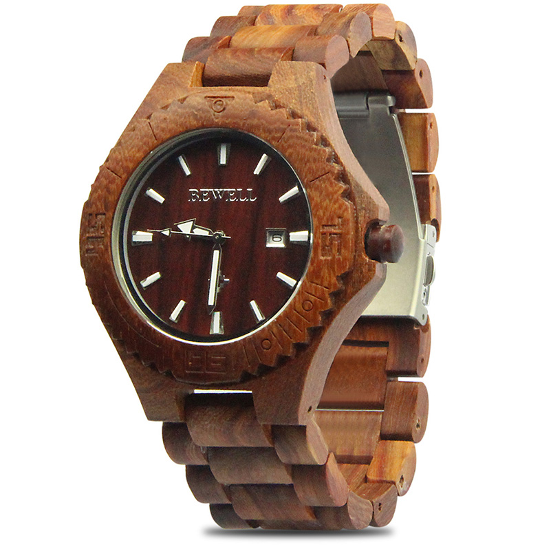 Wood Wrist Watches Men 2018 Top Brand Luxury Famous Male Clock Quartz Watch with Date Display Quartz-watch Relogio Masculino new 2017 quartz watch men watches top brand luxury famous male clock wrist watch calendar quartz watch relogio masculino