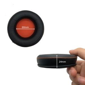 Image 5 - زوج من وسادات الأذن IMTTSTR قطعة واحدة غطاء وسادة الأذن للاستبدال لمعالج الصوت لـ ASUS ORION ROG Spitfire USB 7.1 الظاهري