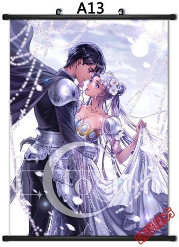 Аниме Япония плакат дома Сейлор Мун Кристалл - Цвет: Белый