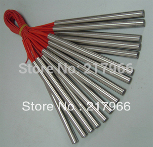 5 uds x calentador de cartucho 8*120 a 250 W; 8*150 a 300 W; 8*200 400W envío gratis