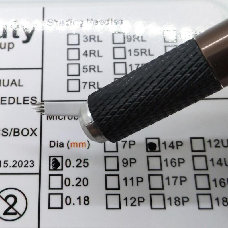 DDR aguja juego 5 agujas 5,0 mm rojo de plástico