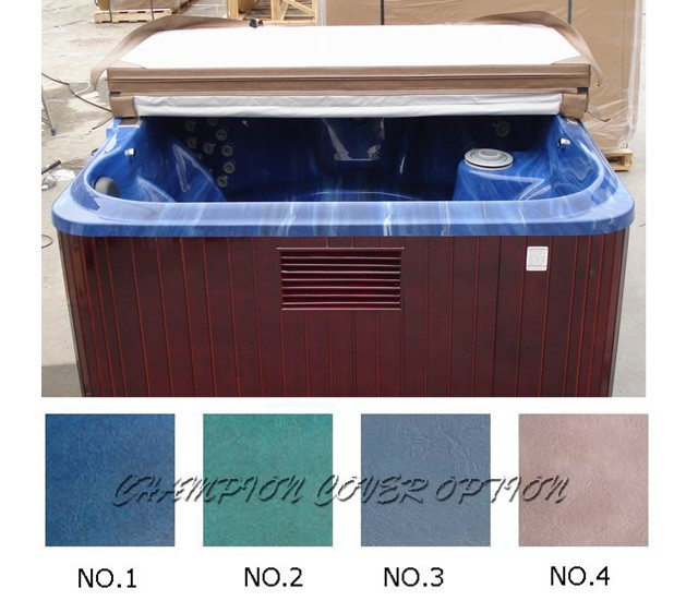Spa Cover leather only Strong Hot tub cover skin only replacement vinyl any size, shape, swim spa cover leather 2200mmx1900mm hot tub spa cover leather skin can do any other size