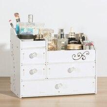 drawer style cosmetic storage box/hollow waterproof moisture flame retardant jewelry racks