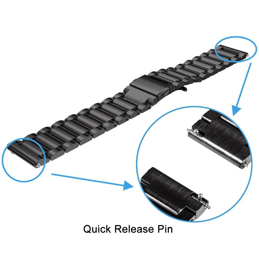 20mm Bracelet Strap For Xiaomi Huami Amazfit Bip Watch Band For Samsung Galaxy Active S2 S4 Correa For Garmin Vivoactive Pulsera in Smart Accessories from Consumer Electronics