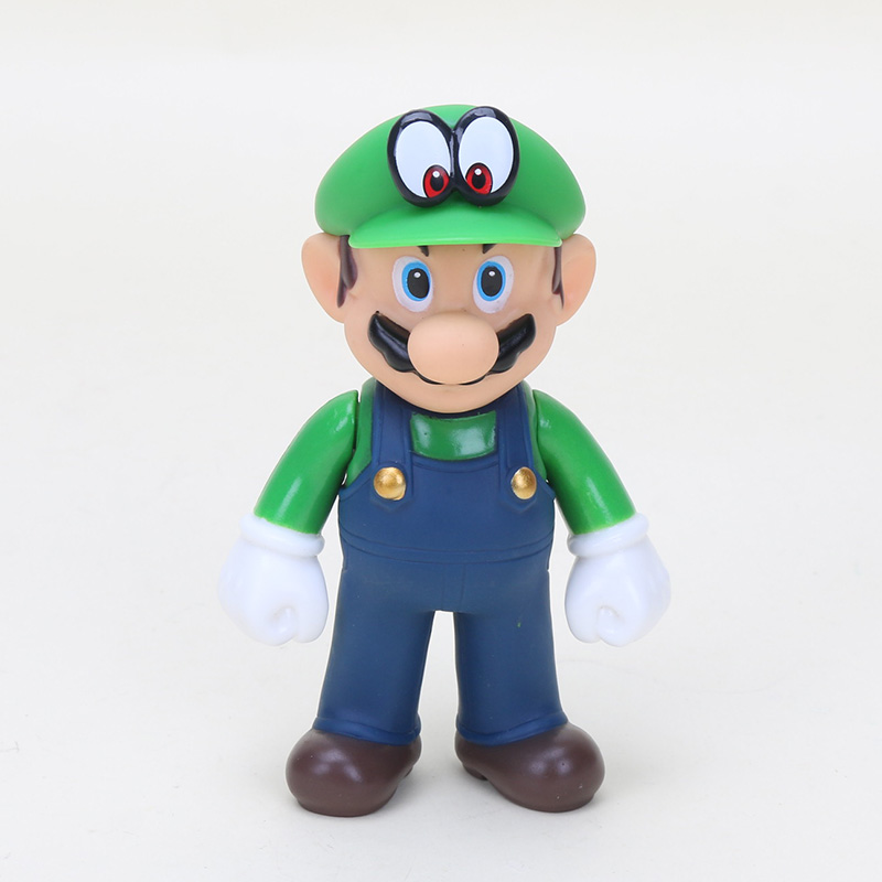 green hat eye mario