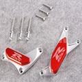 Naranja Para SUZUKI GSX-R600 750 1000 Motor Protector de La Cubierta Deslizante GSXR 600 GSXR750 2004 2005 GSXR1000 2003-2008 2006 2007
