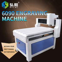 HYCNC 6090 CNC engraving machine CNC woodworking nameplate advertising badge acrylic small engraving machine