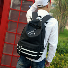 Canvas Both Shoulders Package Computer Student Bag Men And Women Will Capacity Outdoors Travelling anti theft backpack