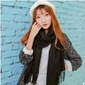 2016 fashion  Brand Designer Winter Thick warm cotton Scarf For Women Shawl Pashmina Scarf