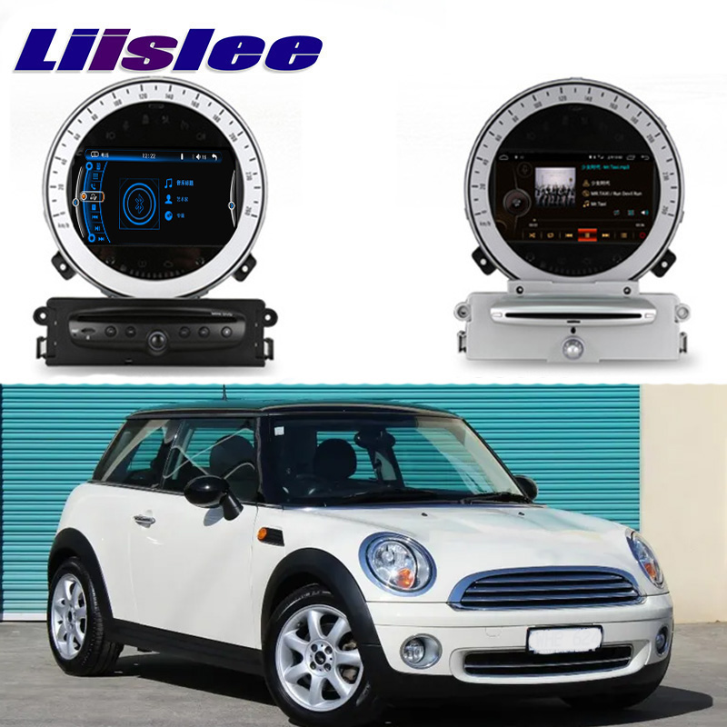 Liislee Car Multimedia Player NAVI For Mini Hatch One Cooper S D R56 2007~2013 Car Radio Stereo GPS Navigation CE System liislee car multimedia player navi for mini hatch f55 f56 2014 2018 car radio stereo gps navigation original car style ce system