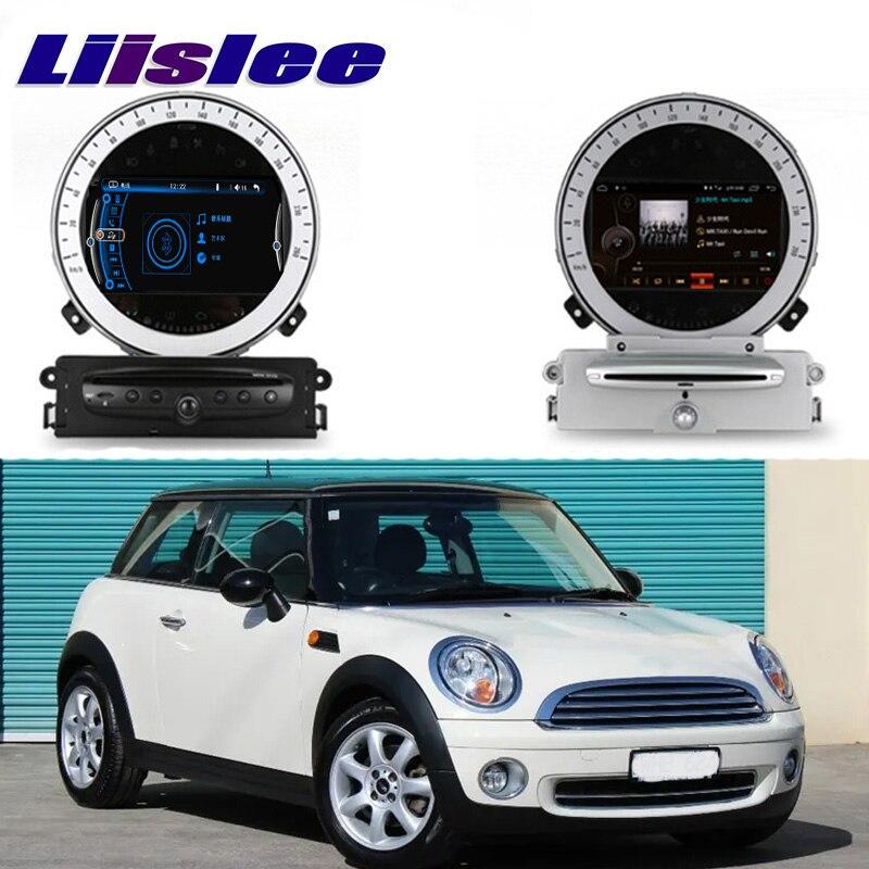 Liislee lecteur multimédia de voiture NAVI pour Mini trappe un Cooper S D R56 2007 ~ 2013 autoradio stéréo GPS Navigation système CE