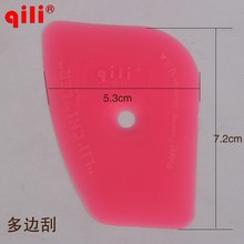 50pcs/pink qg-01 squeegee Window Film Installation Tint Scraper for Side DHL Free