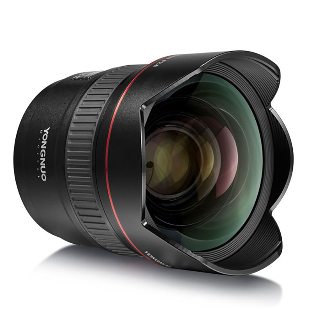 YONGNUO Ultra-wide Angle Prime Lens YN14mm F2.8N Auto Focus Metal Mount for Nikon D7100 D5300 for Canon 700D 80D 5D DSLR Cameras потребительские товары cs pro cs 1 dslr 6d canon 5d 3 7 d t3i d800 d7100 d3300 pb039