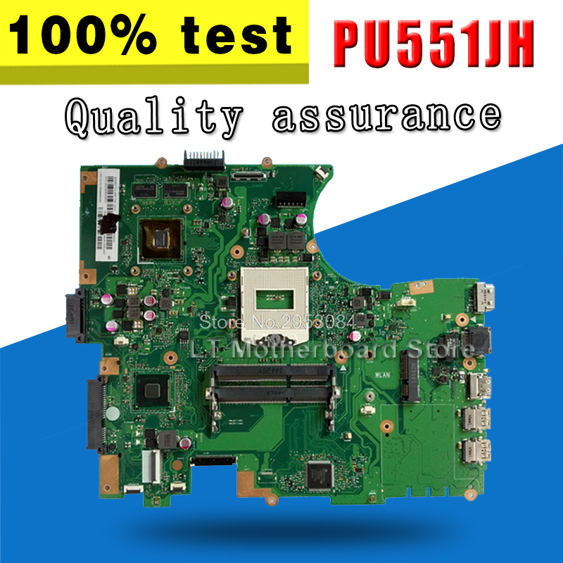 PU551JD For ASUS PU551J PU551J PU551JA GM Notebook Test work 100% originalPU551JD For ASUS PU551J PU551J PU551JA GM Notebook Test work 100% original
