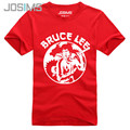 New Bruce Lee Style Short Sleeve T-Shirt Men Summer Fashion Hipster Fitness Bruce Lee Printed Nunchakus T Shirt For Man A1548