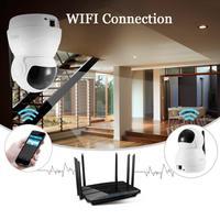 Mini Robot IP Camera WIFI 2018 Fashion Home Security Monitor 3D Navigation 1080P HD IR Night