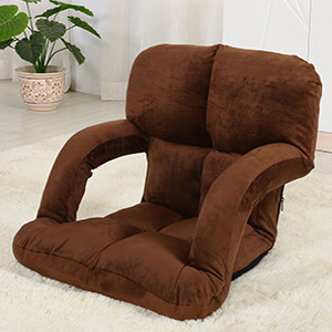 With lazy sofa armchair tatami chair single folding sofa bed chair chair floor computer chair