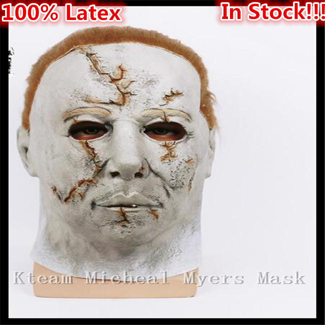 Top Quality 100% Latex Horror Movie Theme Mask Halloween Michael Myers Mask, Adult Party ...