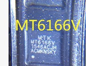 1pair/lot 1pcs MT6166V MT6166 chip IC + 1pcs BGA reballing reball stencil
