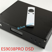 Decodificador de audio HIFI ES9038 ES9038PRO DAC + transformadores toriales de alta calidad + opción XMOS XU208 o Amanero USB