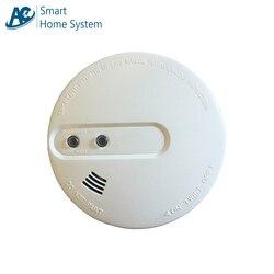 Najlepsze dom i System wykrywania dymu samodzielny 433 Mhz bezprzewodowy fotoelektryczny dymu o wysokiej czułości urządzenie do wykrywania
