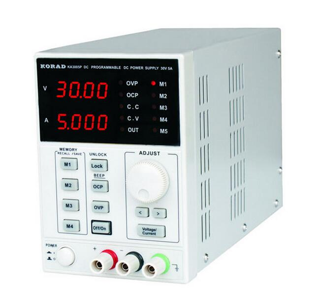 KORAD KA3005P High precision Programmable Adjustable Digital DC POWER SUPPLY 30V 5A R232 and USB Connect