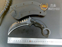 FBIQQ Paw Knife, Defensive Saber Wild Survival Commando High Hardness Scorpion Hawk Claw Knife