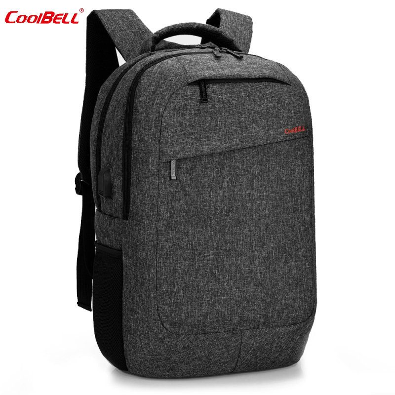 Coolbell USB Charge 15 Backpack Men Laptop Rucksack Casual Mochila Waterproof Travel Bag For Women Men Business 2017 Fashion-FF voyjoy t 530 travel bag backpack men high capacity 15 inch laptop notebook mochila waterproof for school teenagers students