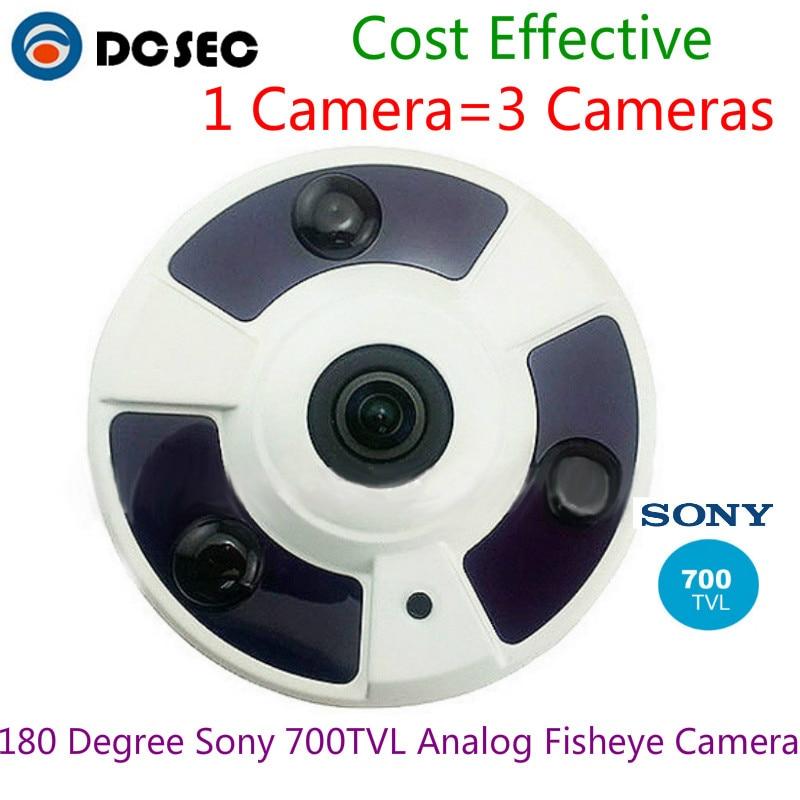 Analog Sony 700TVL CCTV Fisheye Panoramic Vandalproof ...