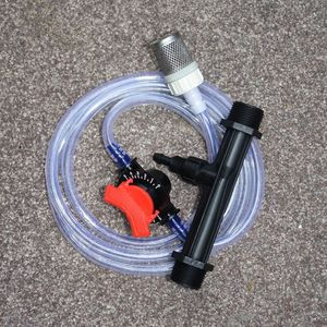 Image 5 - Venturi fertilization system 3/4 1/2 Irrigation Venturi Automatic fertilizer injector Fertilizer Syringe 1set