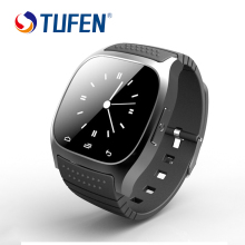 TUFEN M26 Bluetooth Smart Watch Waterproof Sync Men/Women Wristwatch With SMS Remind Pedometer For Android IOS Phone Smartwatch