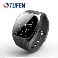 TUFEN M26 Bluetooth Sincronización de Reloj Inteligente A Prueba de agua Hombres/Mujeres Reloj Con Podómetro Para Android IOS Teléfono Smartwatch SMS Recuerdan