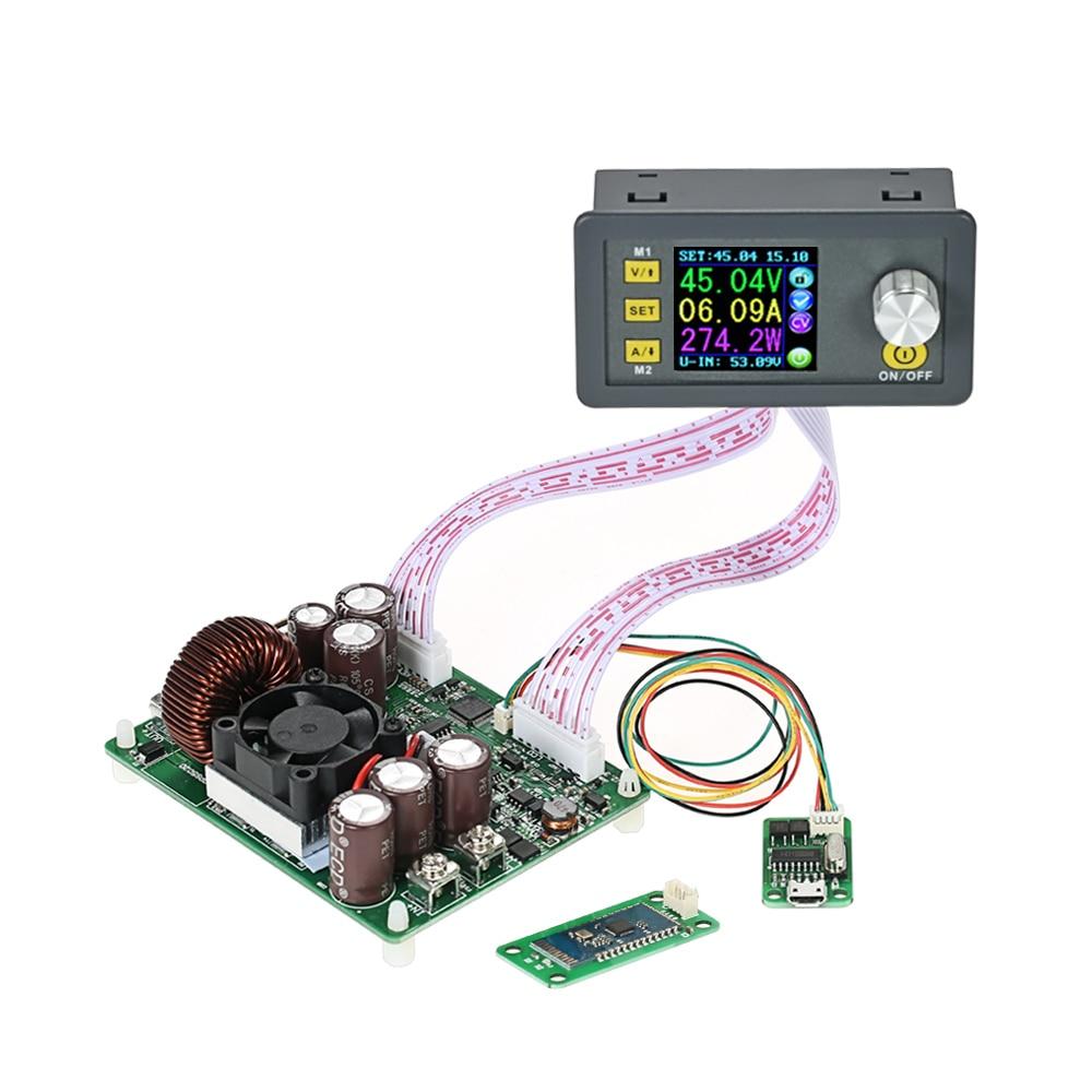 Numérique Programmable Alimentation Module Contrôle Buck-Boost Constant Tension Courant Communication Version + Bluetooth Conseil