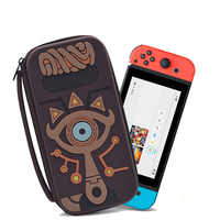 Nintend Switch Carrying Case Accessories Storage Bag Protection Hard EVA Travel Case for NS Console Silicone Portable Bag