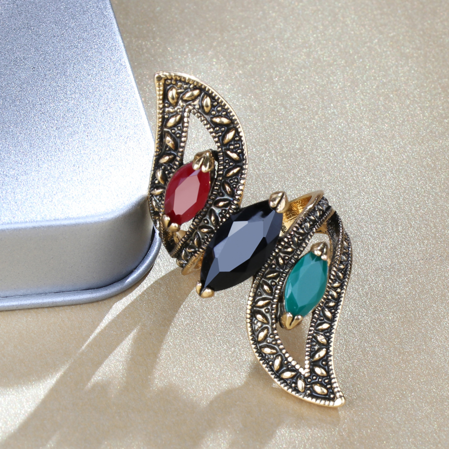 Women's Vintage Turkish Ring Jewelry Rings Women Jewelry