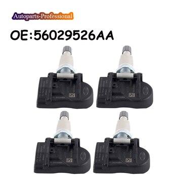 4 pcs/lot Car For Chrysler Jeep Dodge Tire Pressure Monitoring Sensor TPMS Sensor 56029526AA 315MHz Auto Parts