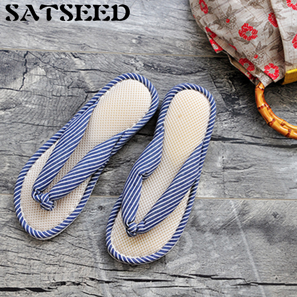 Japanese Slippers Women Home Shoes Floor Slippers Flip Flops Indoor Slipppers Flat With Gingham Fashion New Casual Shoes Soft vanled 2017 new fashion spring summer autumn 5 colors home plush slippers women indoor floor flat shoes free shipping