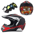 2017 Nueva llegada de La Motocicleta Casco Adulto ATV Dirt bike motocross Off Road Casco de carreras Cuesta Abajo casco Adecuado para kid DOT