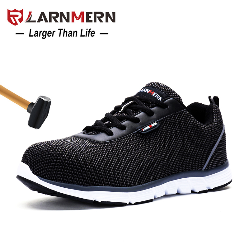 Xek Men Work Breathable Steel Toe Caps Anti-smashing Stab Safety Shoes Work Shoes Men Summer Labor Insurance Shoes Wyq30 Latest Technology Back To Search Resultsshoes