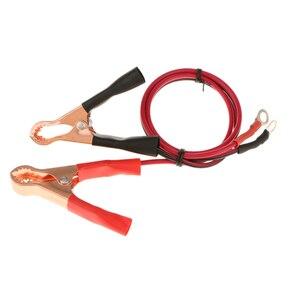 Image 5 - Pinzas de cables de cocodrilo para el Terminal de la batería de 50a, pinzas de batería para el coche, pinzas para el coche, pinzas para el coche, negro y rojo 2 piezas