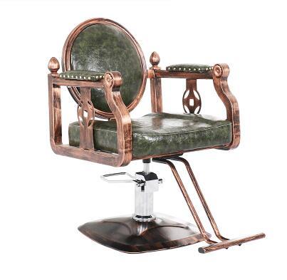 Парикмахерские ретро Утюг промышленных ветер волосы стул Прямая с фабрики Парикмахерская специальный стул - Цвет: 04