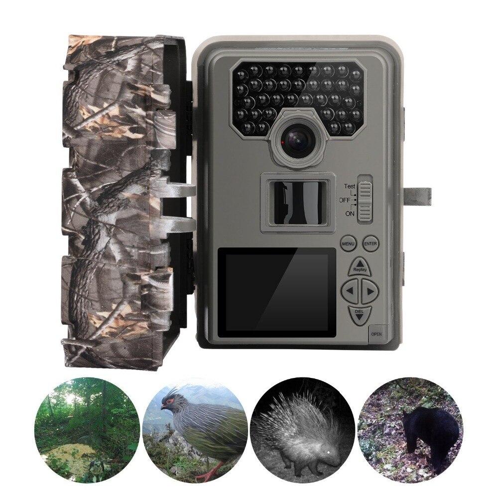 bilder für 12MP 940nm 2,0 ''LCD Infrarot Jagd Kamera Bewegungserkennung Nachtsicht HD 1080 P Trail Wilde Jagd Kamera Upgraded von HC300M