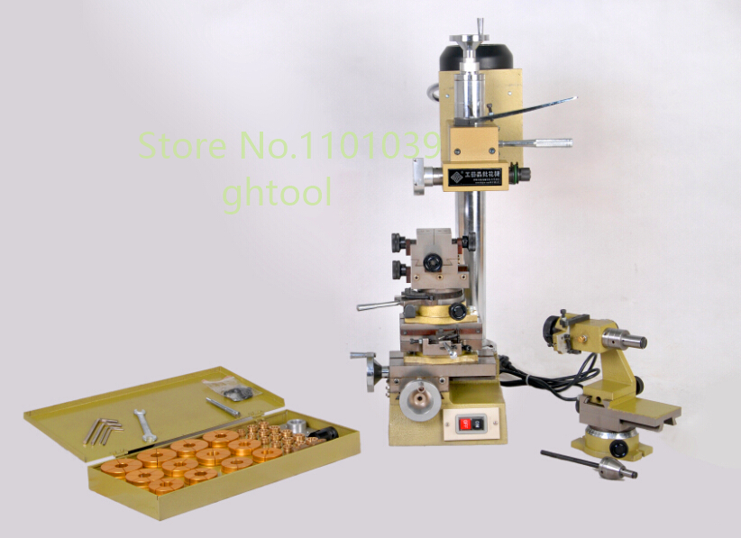 Hajet Jewelry Equipment 220V Bangle Faceting Machine Automatic Ring Faceting Machine jewelery tools