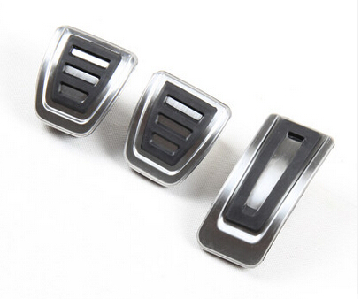 Neueste Version Edelstahl MT/AT pedal Abdeckung Bremse gaspedal für Seat Ibiza 6 Karat 6L 6J