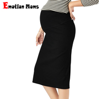 Emotion Moms Korean Fashion Maternity Dress for Pregnant Women Spring Autumn Maternity Belly Skirts Pregnancy pants