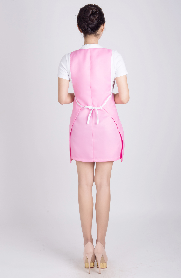 1pcs Professional Hairdressing Apron Beauty With Collar Hair Cutting